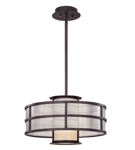 Troy Lighting F2735 Modern 1 Light Discus Pendant Small In Graphite