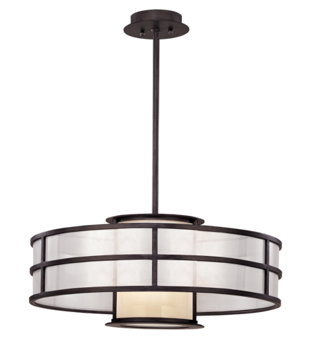 Troy Lighting F2736 Modern 1 Light Discus Pendant Medium In Graphite
