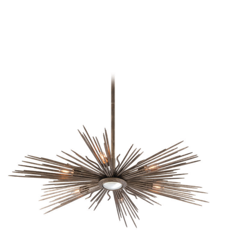 Troy Lighting F4136 Blink 6 Light Pendant In Light Cottage Bronze