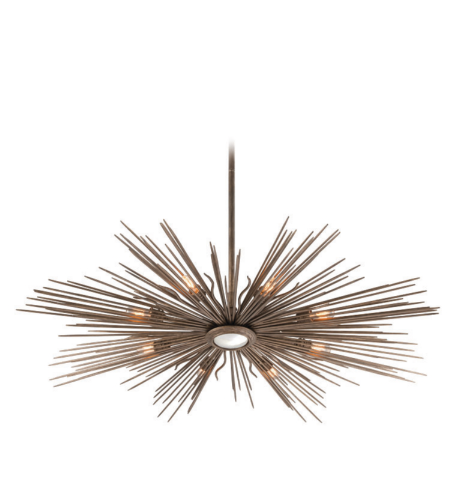Troy Lighting F4138 Blink 8 Light Pendant In Light Cottage Bronze