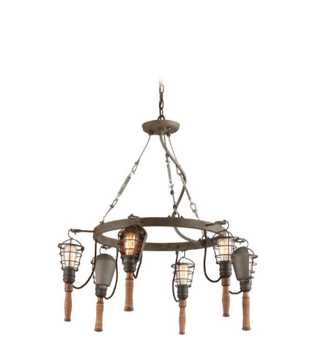 Troy Lighting F4175 Yardhouse 6lt Pendant