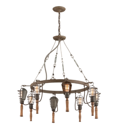 Troy Lighting F4176 Yardhouse 8lt Pendant