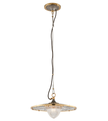 Troy Lighting F4705 Fly Boy 1 Light Pendant In Antique Silver