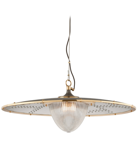 Troy Lighting F4708 Fly Boy 1 Light Pendant In Antique Silver