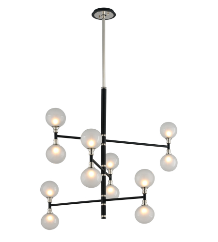 Troy Lighting F4826 Andromeda 12 Light Chandelier In Carbide Black And Polished Nickel  sc 1 st  Foundry Lighting & Shop for Currey And Company Closeouts at Foundry Lighting azcodes.com