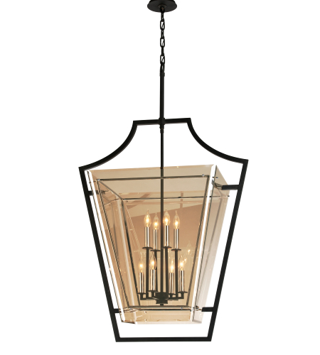 Troy Lighting F5598 Domain 8 Light Pendant In Forged Iron