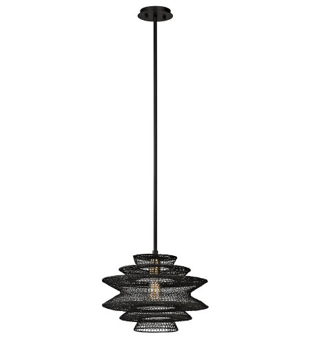 Troy Lighting F6015 Kokoro 1 Light Pendant In Kokoro Bronze