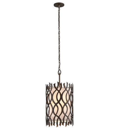 Troy Lighting F6104 Mai Tai 4 Light Pendant In Cottage Bronze