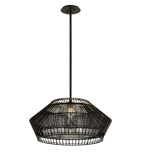 Troy Lighting F6724 Hunters Point 1lt Pendant