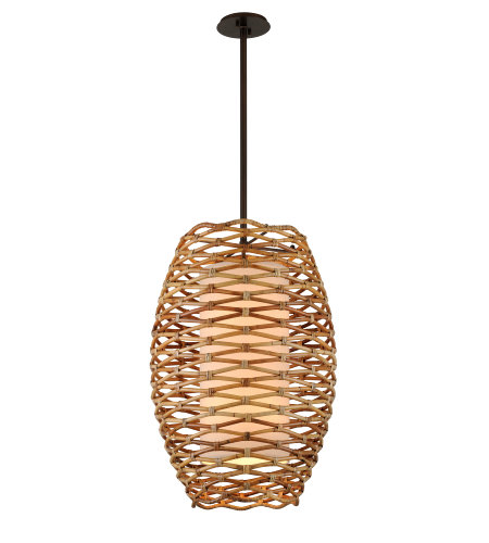 Troy Lighting F6748 Balboa 8lt Pendant