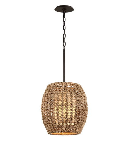 Troy Lighting F6754 Conga 1lt Pendant
