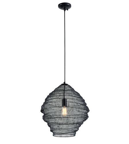 Troy Lighting F6772 Wabi Sabi 1lt Pendant