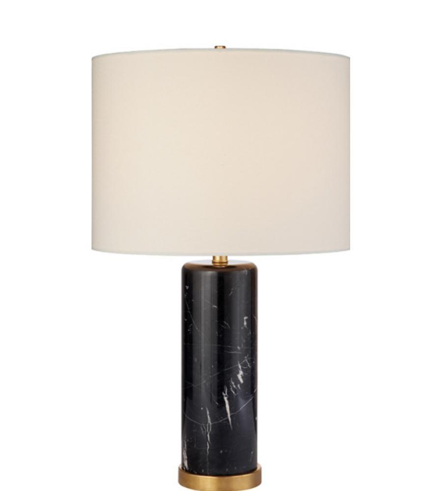 Visual Comfort Arn 3004bm L Aerin Modern Cliff Table Lamp In Black