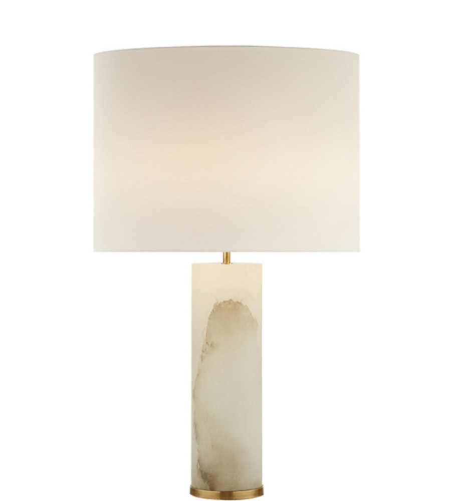 Visual Comfort Arn 3024alb L Aerin Modern Lineham Table
