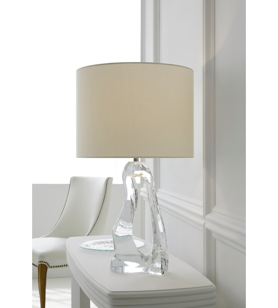 Visual comfort arn 3100cg l aerin modern cannes table lamp for Aerin lauder visual comfort