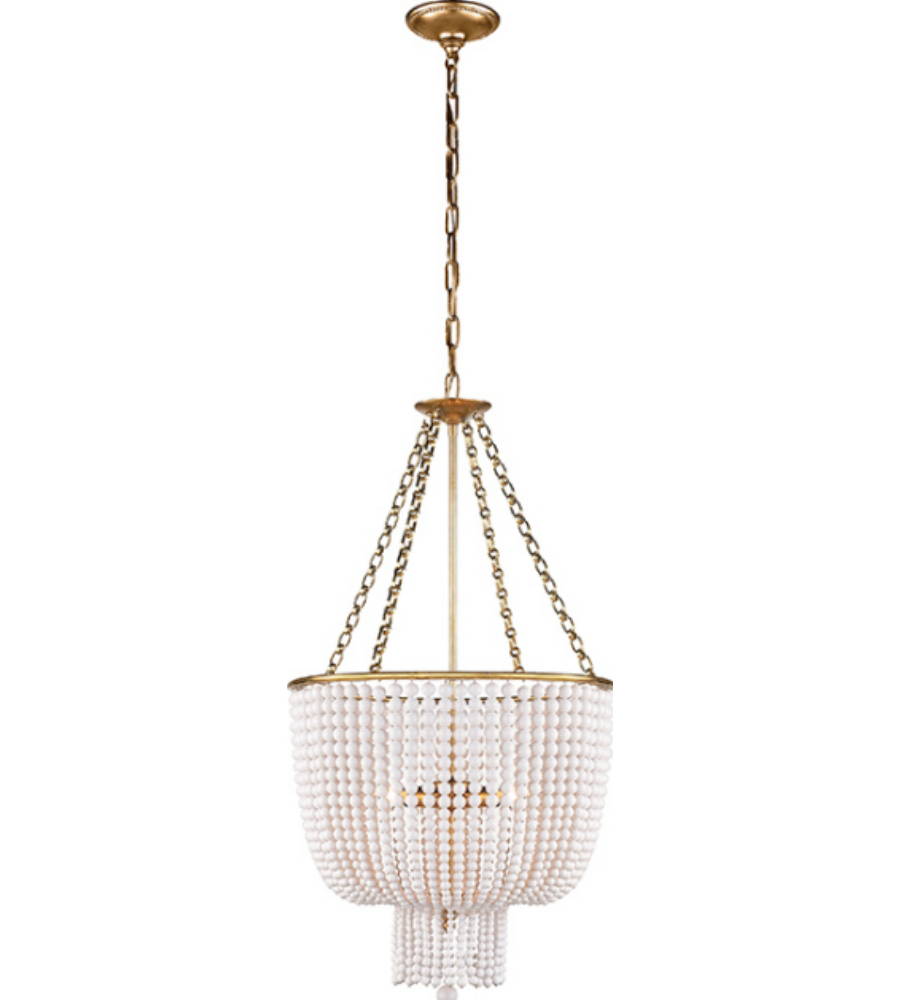 Visual comfort arn 5102bsl wg aerin traditional jacqueline visual comfort arn 5102hab wg aerin traditional jacqueline chandelier in hand rubbed antique brass with white acrylic aloadofball Choice Image