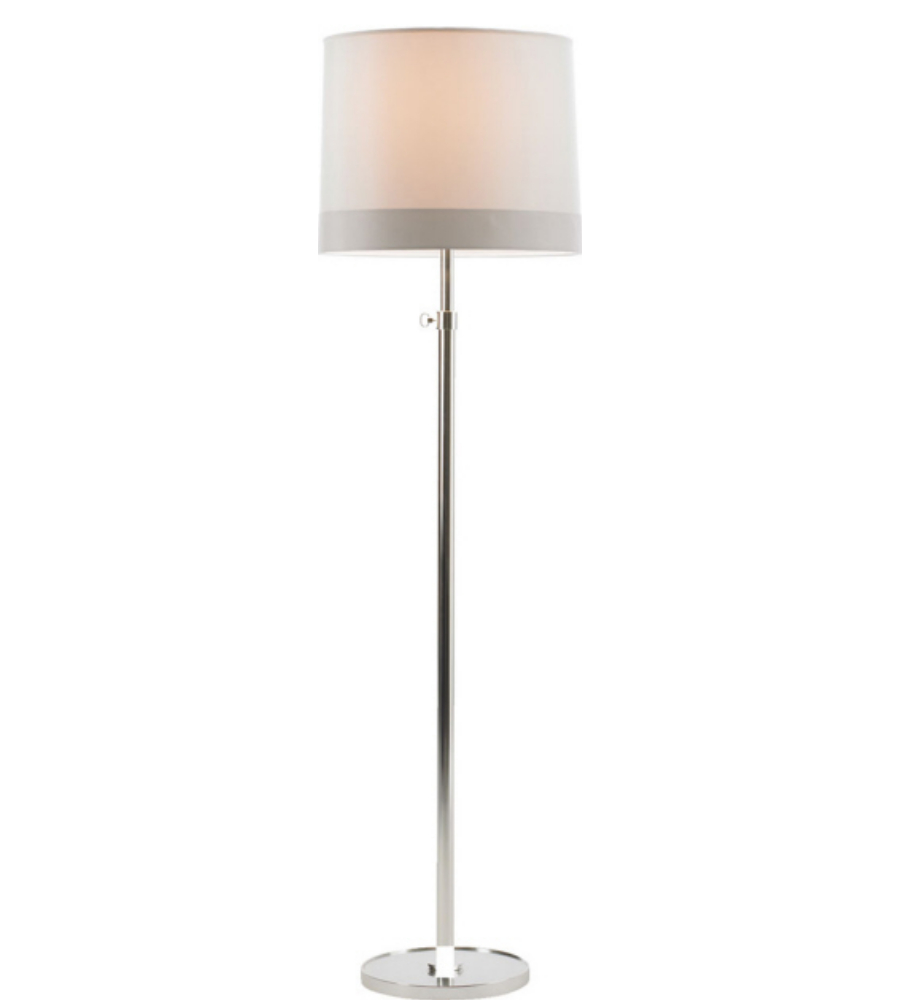 Visual comfort bbl1023ss s2 barbara barry simple floor for Barbara barry floor lamp
