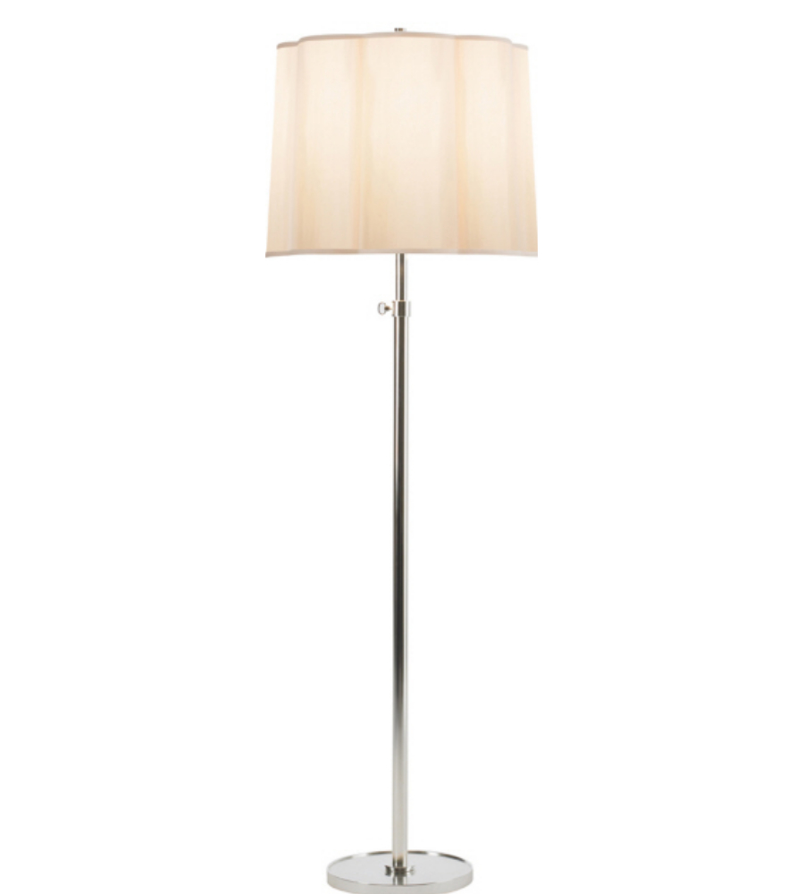 Visual comfort bbl 1023ss s barbara barry modern simple for Barbara barry floor lamp