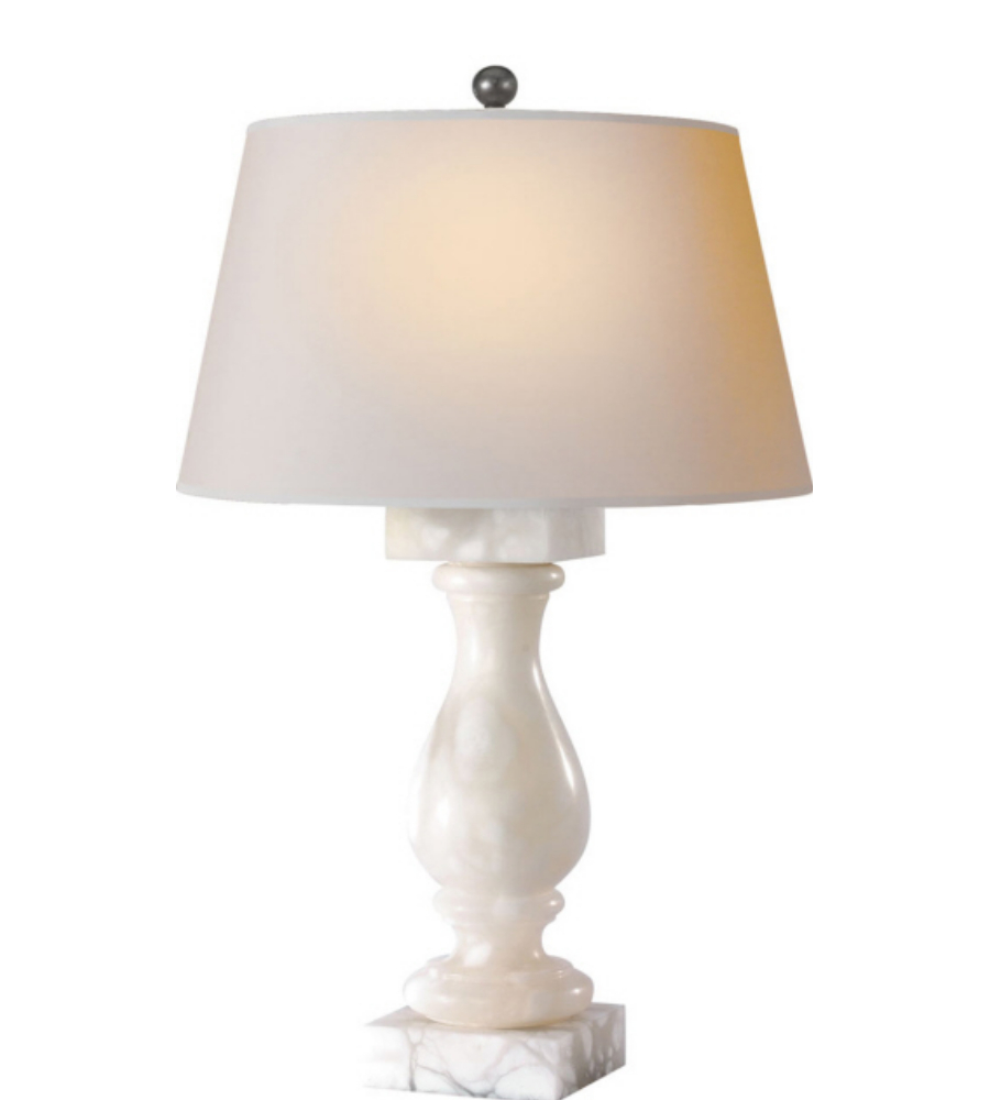 how to clean alabaster lamps