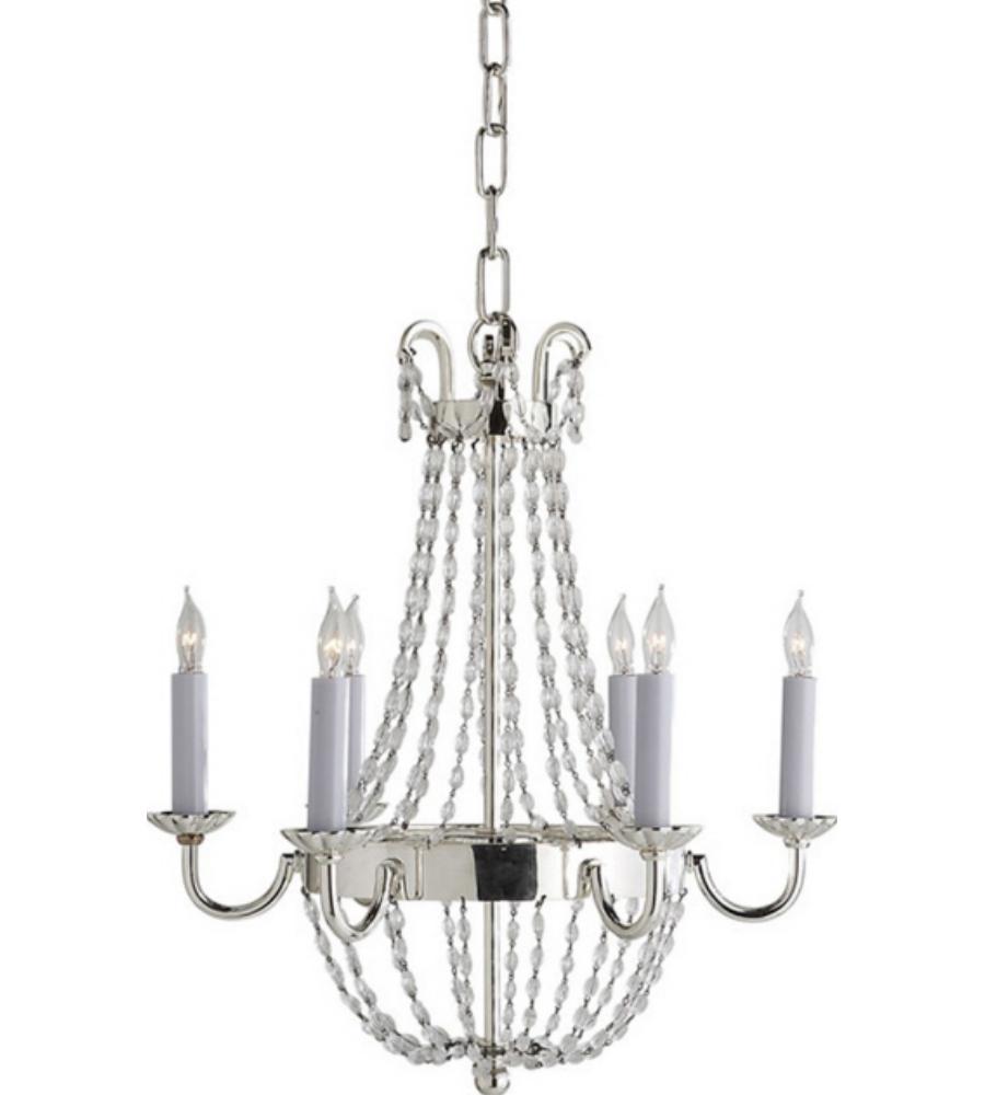 Petit Paris Glass Pendant Light For Sale: Visual Comfort CHC 1407PS-SG E. F. Chapman Traditional