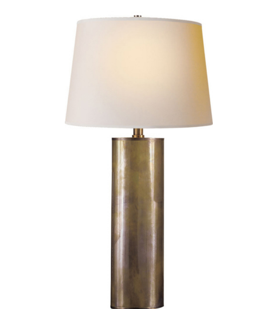 Visual Comfort S302hab Np Studio Vc Oval Canister Lamp In