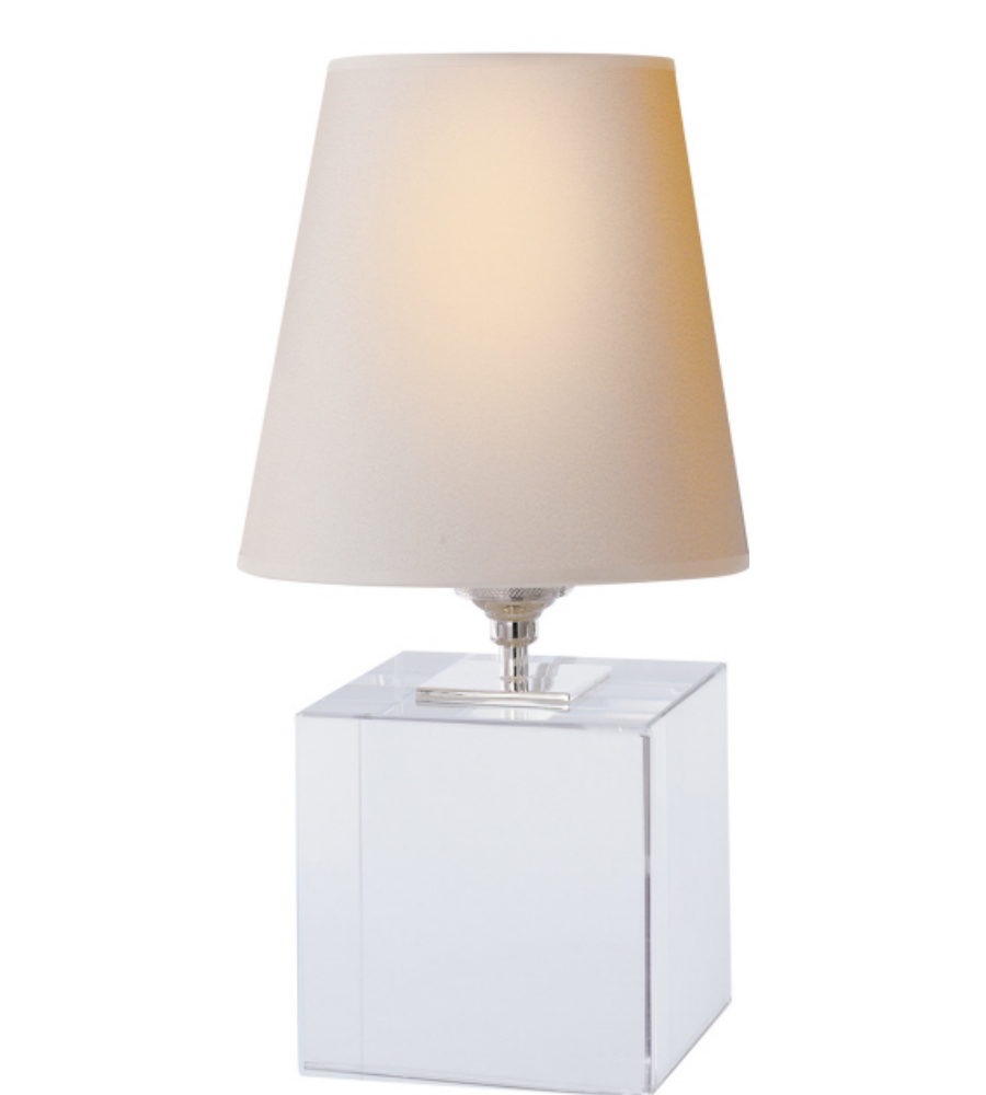 Visual comfort tob 3020cg np thomas o39brien modern terri for O shaped table lamp