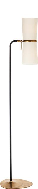 Visual Comfort ARN 1003BLK-L AERIN Modern Clarkson Floor Lamp in ...