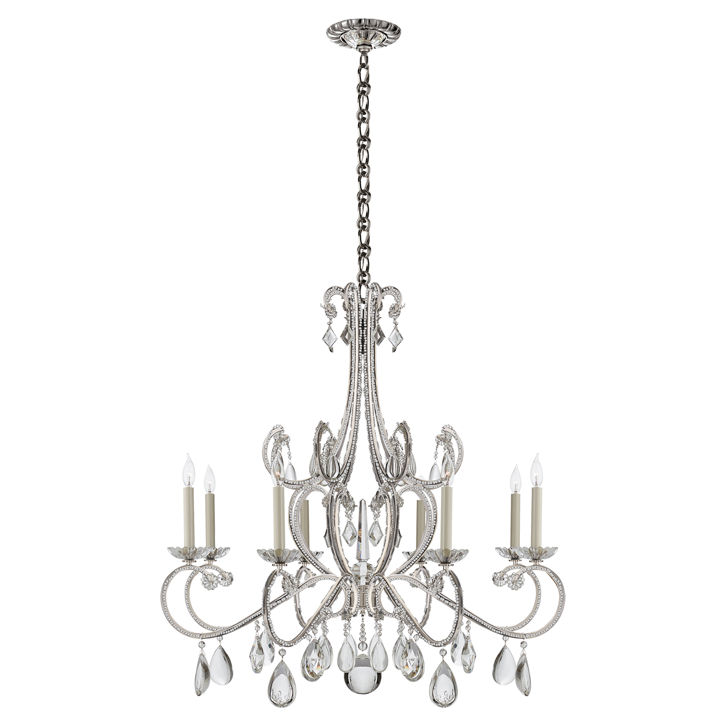 sylvan by in products nickel lighting crystorama polished connection pn chandelier cr light