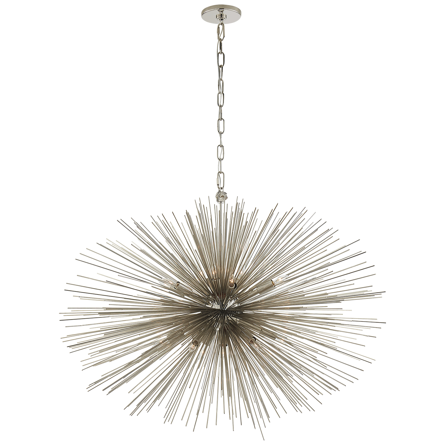 circolo chandelier eight kichler oval light