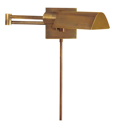 Visual Comfort 92025 HAB Studio VC Casual Studio Swing Arm Wall Light in Hand-Rubbed Antique Brass