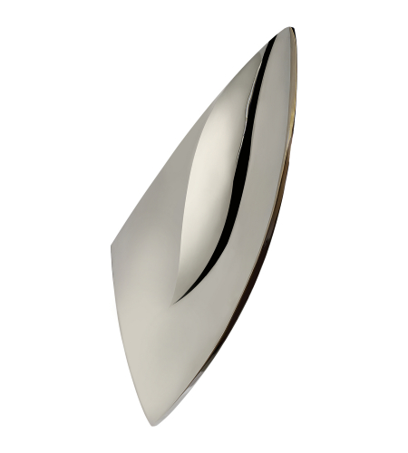 Visual Comfort ARN 2034PN AERIN Modern Carbet Sconce in Polished Nickel