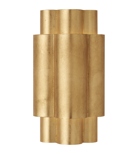 Visual Comfort ARN 2306G AERIN Modern Arabelle Medium Sconce in Gild
