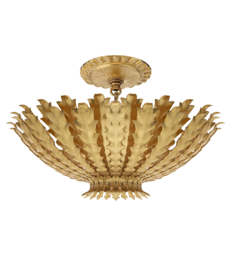 Visual Comfort ARN 4011G AERIN Casual Hampton Small Chandelier in Gild