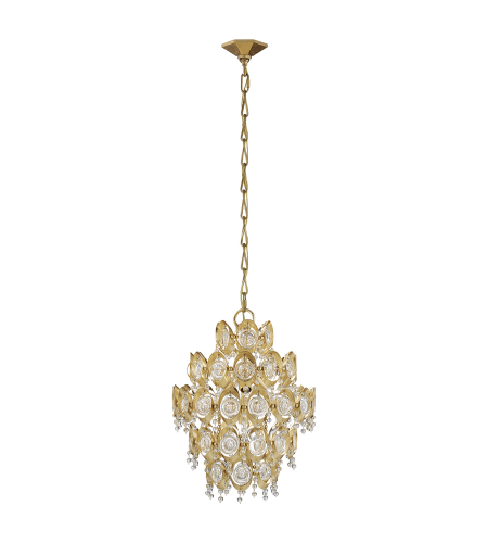 Visual Comfort ARN 5148G-CG AERIN Traditional Emile Chandelier in Gild