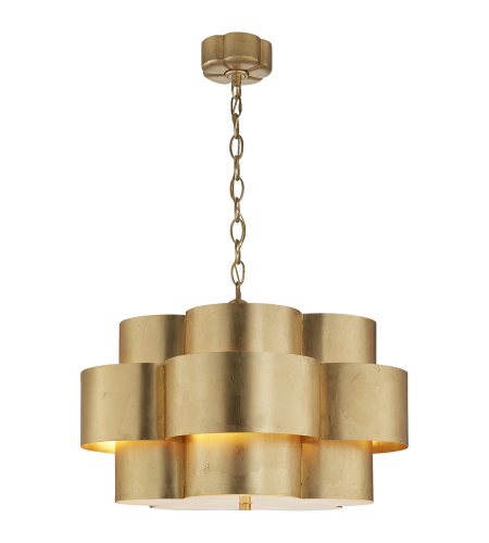 Visual Comfort ARN 5306G AERIN Modern Arabelle Hanging Shade in Gild
