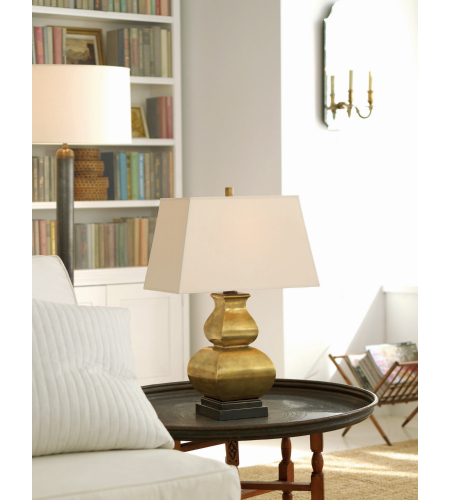 Visual Comfort Cha 8627ic Np E F Chapman Traditional Fang Gourd Table Lamp In Ivory Crackle