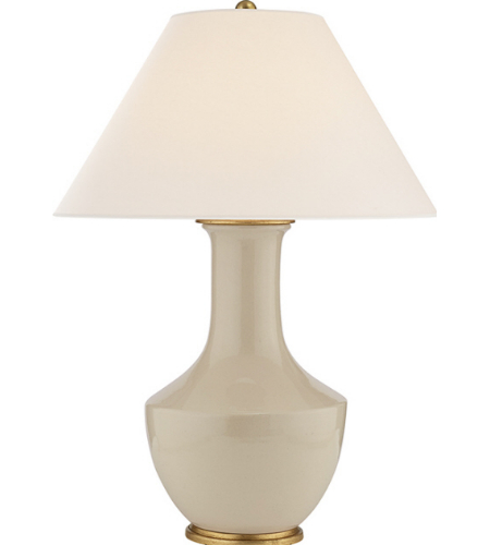 Visual Comfort CHA 8661ICO NP E. F. Chapman Casual Lambay Table Lamp In  Coconut With Natural