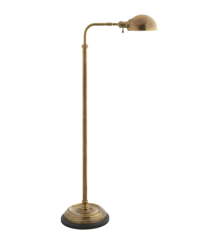 Visual Comfort CHA 9161AB E. F. Chapman Traditional Apothecary Floor Lamp in Antique-Burnished Brass