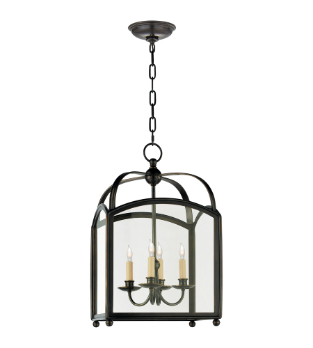 Visual Comfort CHC 3421BZ E. F. Chapman Traditional Arch Top Small Lantern in Bronze