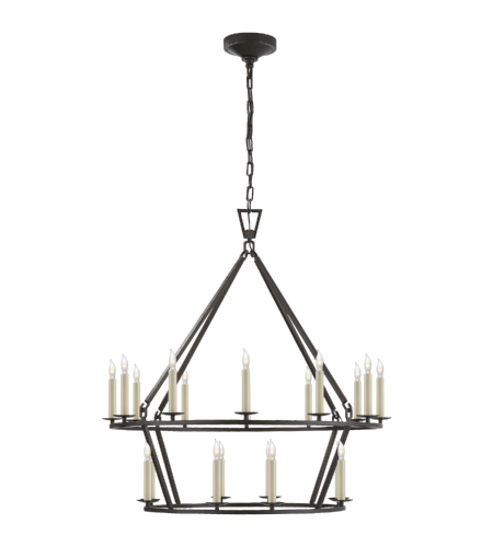 Darlana Two Tiered Ring Chandelier: Shop For Chandelier At Foundry Lighting
