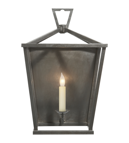 Visual Comfort CHD 2165AI E. F. Chapman Casual Darlana Wall Lantern in Aged Iron