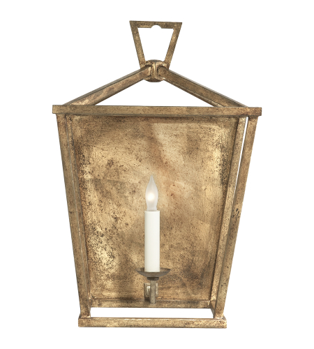 Visual Comfort CHD 2165GI E. F. Chapman Casual Darlana Wall Lantern in Gilded Iron