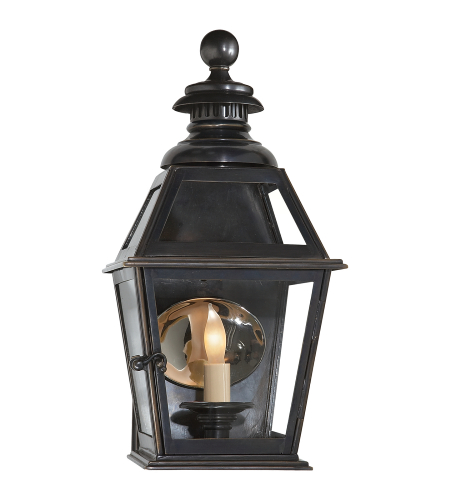 Visual Comfort CHO 2109BZ E. F. Chapman Traditional Chelsea Small 3/4 Wall Lantern in Bronze