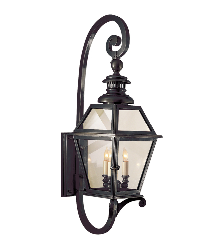 Visual Comfort CHO 2113BZ E. F. Chapman Traditional Chelsea Lantern in Bronze