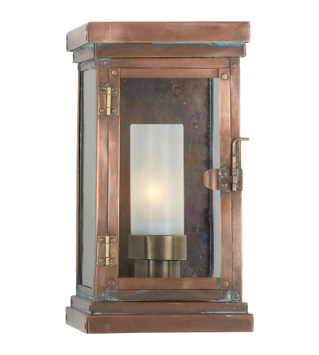 Visual Comfort CHO 2222NC E. F. Chapman Traditional Somerset Small Modern Lantern in Natural Copper