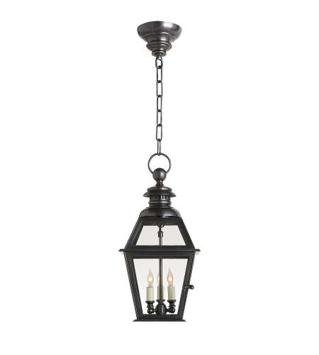 Visual Comfort CHO 5003BZ E. F. Chapman Traditional Chelsea Medium Hanging Lantern in Bronze