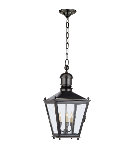 Visual Comfort CHO 5032BZ E. F. Chapman Traditional Sussex Medium Hanging Lantern in Bronze