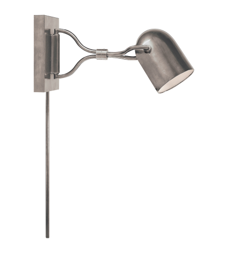 Visual Comfort CL 2170BC Clodagh Modern Noho Double Torchiere Sconce in Brushed Chrome