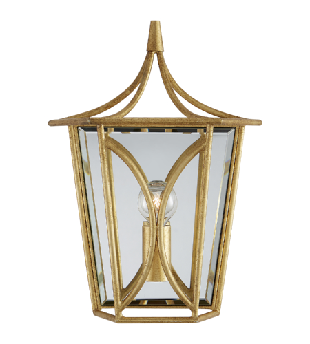 Visual Comfort KS 2144G kate spade new york Casual Cavanagh Mini Lantern Sconce in Gild