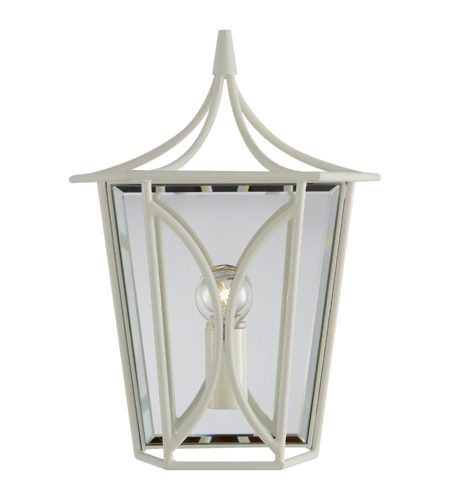 Visual Comfort KS 2144LC kate spade new york Casual Cavanagh Mini Lantern Sconce in Light Cream